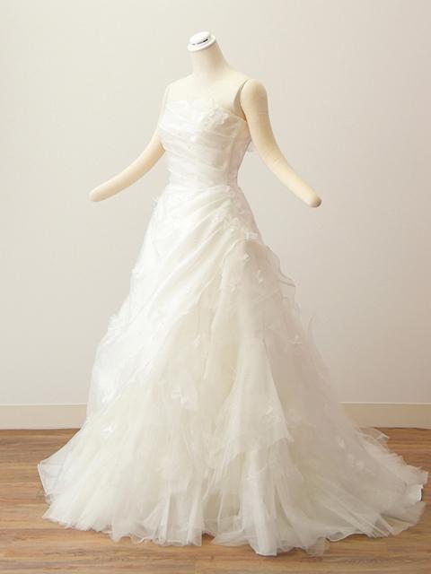 白ドレス01