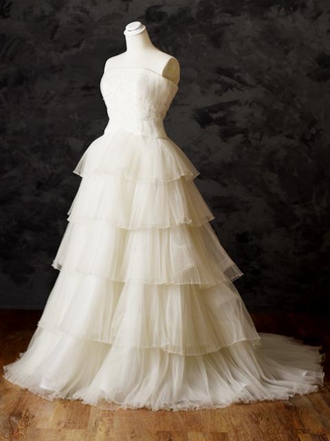 白ドレス06