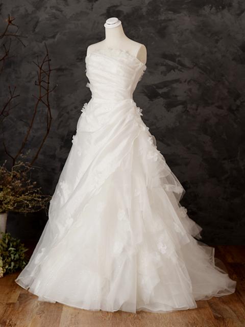 白ドレス07