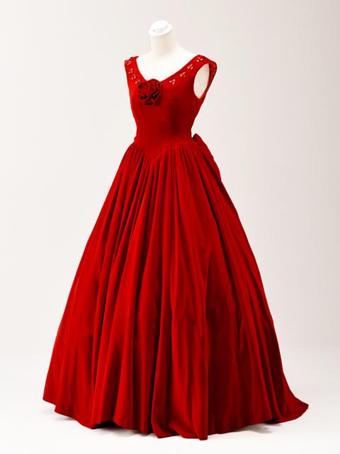 色ドレス01