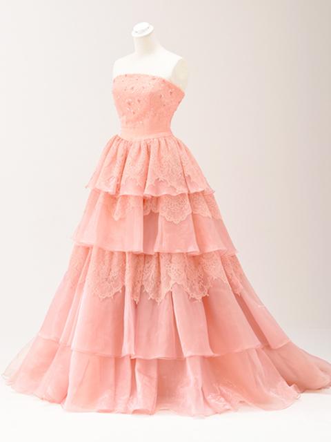 色ドレス03